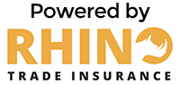 Powered by Rhino Trade Insurance